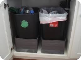 kitchen awesome ikea trash can bin pull out cabinet enchanting
