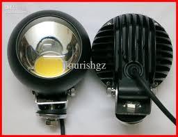 4 inch round led lights 4 25w round cree led work light driving off road spotlight suv atv