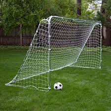 foldfast goals green steel portable soccer goal 12 x 6 ft