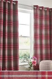 Pink Tartan Curtains Pink Curtains Pink Blinds Next Official Site