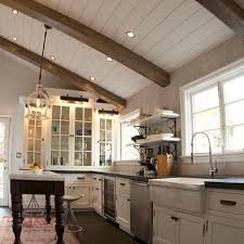Kitchen Ceilings Designs Best 25 Wooden Beams Ceiling Ideas On Pinterest Exposed Brick