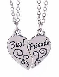 best friends heart necklace images Grandeur best friends heart necklace set grandeur essentialz png