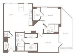 studio 3 br floor plans modera midtown rentals