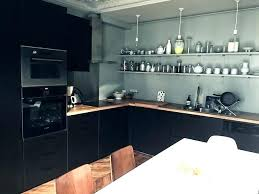 cuisine laqué noir meuble cuisine noir ikea cuisine noir brillant meuble cuisine noir