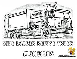 download coloring pages garbage truck coloring page garbage