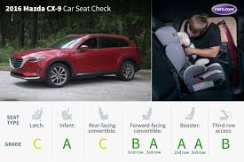 mazda suv cars 2016 mazda cx 9 car seat check news cars com