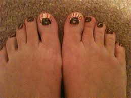 thanksgiving toe nail designs ideas 2014 fabulous