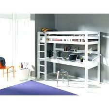 bureau gami lit superpose 90 200 lit superposac blanc laquac et rideau