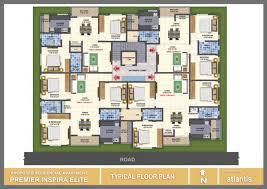 the inspira floor plan premier inspira elite apartment flat no 102 bengaluru