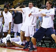 basketball player on bench monmouth and its bench hope to dance all the way to march ny