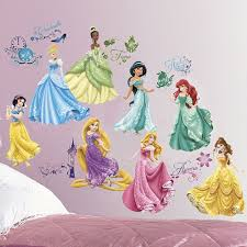 Princess Wall Mural by Disney Wall Decals Uk Wall Murals You U0027ll Love