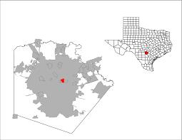 Texas Zip Code Map Alamo Heights Texas Wikipedia