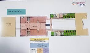 floor plan spectrum metro sector 75 noida shop u0026 office space