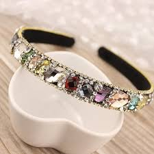 hair bands for women new korean hair accessories shining rhinestone hairbands