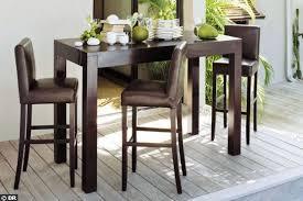table ilot cuisine haute chaise haute pour cuisine chaise pour ilot cuisine idées