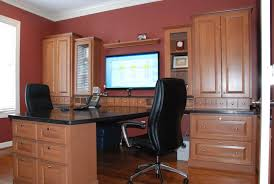 home office with tv office deluxe luxury home office ideas with brown cabinets and