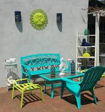 Lime Green Patio Furniture by Colorful Outdoor Patio Furniture Turquoise Lime Green Navy Blue