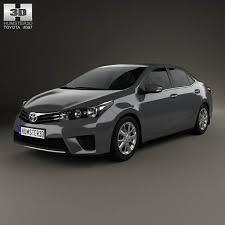 toyota car models 2014 toyota corolla sedan 2014 3d model hum3d