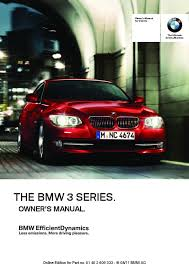 2012 3 series m3 owners manual just give me the damn manual