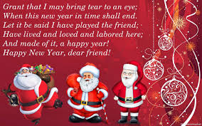 lovely greeting messages for santa claus magical season