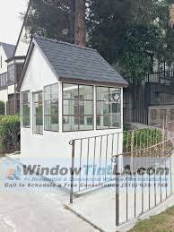 security film installed at los angeles window tint los