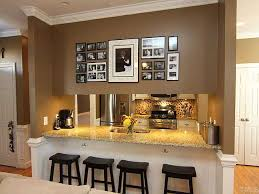 kitchen decorating ideas wall dining room dining room and kitchen decoration ideas island table
