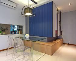 interior design asymmetrical apartment design undulating