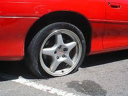 camaro flat tire flat tire on my camaro kevin borland flickr