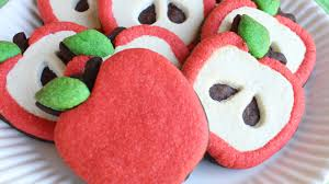 how to make decorated apple cookies without icing easy cookie