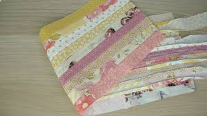 Handmade Fabric Crafts - how to sew a handmade cloth from scrap fabric diy crafts