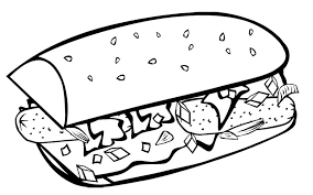 coloring pages of food fast food coloring pages fast food breakfast coloring page