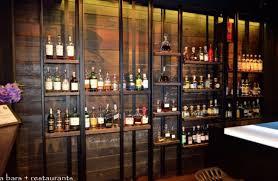 bar amazing back bar designs stainless steel back bar shelves