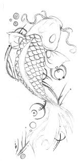imagenes de pez koi a lapiz koi tattoo 2 by the fox hound on deviantart