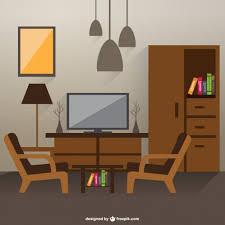 home interior vector esboço do interior sala de estar room interior house drawing