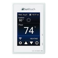 bathroom underfloor heating thermostat thermostats controls under floor heating the home depot