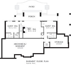 Home Plans With Basement Floor Plans Home Plan The Genova By Donald A Gardner Architects