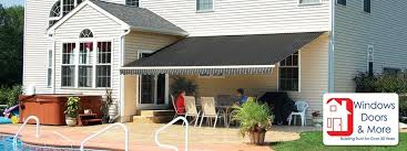 Awning Roof Get Outside More With Retractable Awnings Fort Wayne Windows