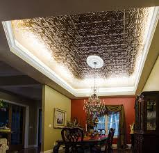 how to build cove lighting led ceiling cove lighting eclectic dining room st louis by