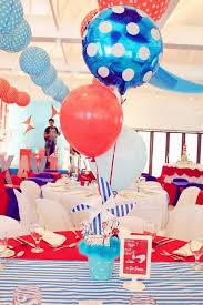 Balloon Decor Ideas Birthdays Kara U0027s Party Ideas Cat In The Hat Party Planning Ideas Supplies
