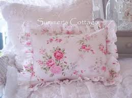 summer bedding pillows cottage living romantic home chic designer