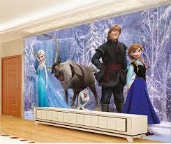 Disney Frozen Bedroom by Wallmural Online Frozen Wall Mural Disney Frozen Wallpaper For