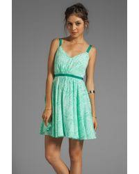 mint green dresses women u0027s designer mint green dresses lyst