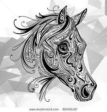 pattern shape stock vector 54843712
