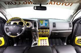 Toyota Tundra Interior Accessories Reel In The 2012 Toyota Tundra Fishing Team Truck