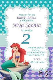 best 25 little mermaid invitations ideas on pinterest mermaid