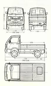 subaru sambar truck subaru sambar 1973 blueprint download free blueprint for 3d modeling