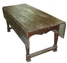 Wooden Drop Leaf Table A Fine 17th Century Italian Ash Wood Drop Leaf Table No 1788 C