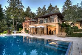 nice mansions with pools