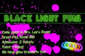 home interior design black light black light