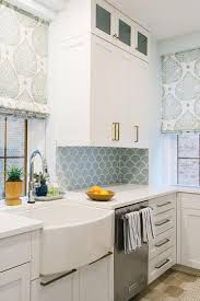 Blue Kitchens With White Cabinets by Blue Kitchen Backsplash Tiles With White Cabinets Kitchen Tiles